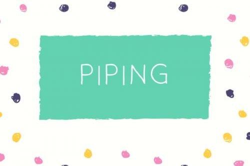 Piping