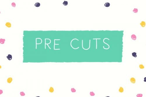 Pre - cuts